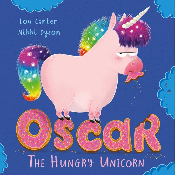 Oscar the Hungry Unicorn PB Book by Lou Carter