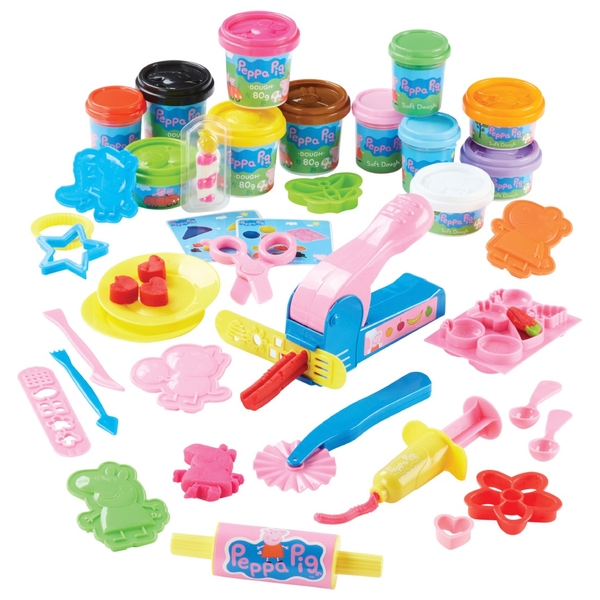Peppa Pigs Party Dough Playset