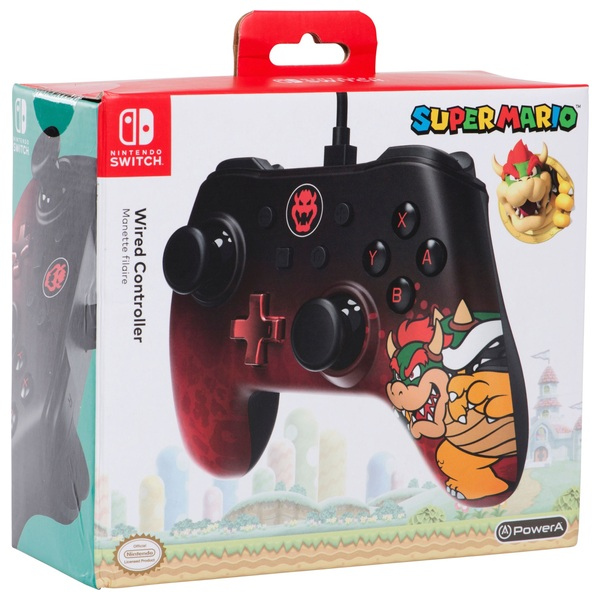 Bowser - Wired Controller for Nintendo Switch