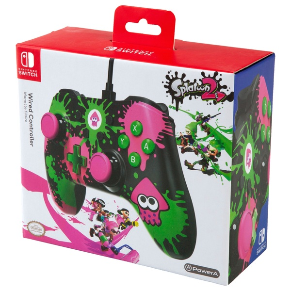 Splatoon 2 - Wired Controller for Nintendo Switch