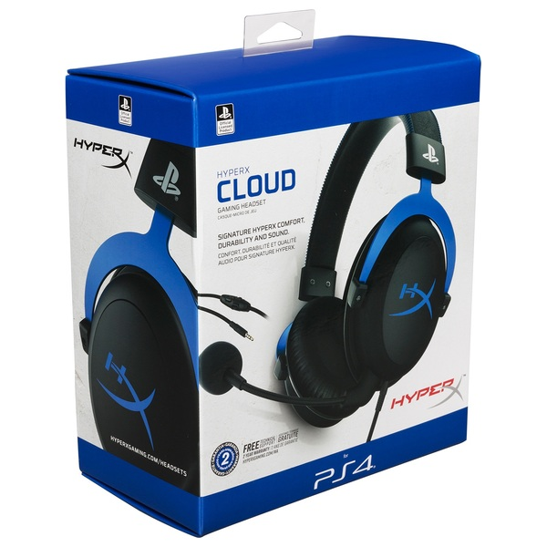 HyperX Cloud™ Gaming Headset - PlayStation® Official Licensed for PS4™ -  Gaming Headsets UK