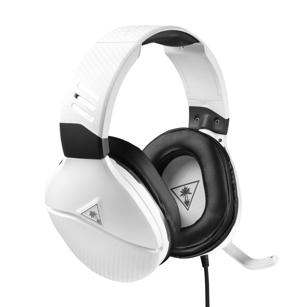 Turtle Beach Recon 200 White Amplified Gaming Headset for PS5, PS4, Xbox, Switch, PC
