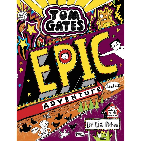 Tom Gates 13: Epic Adventure PB Book By Liz Pichon