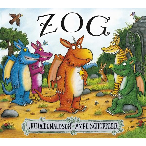 Zog PB Book by Julia Donaldson