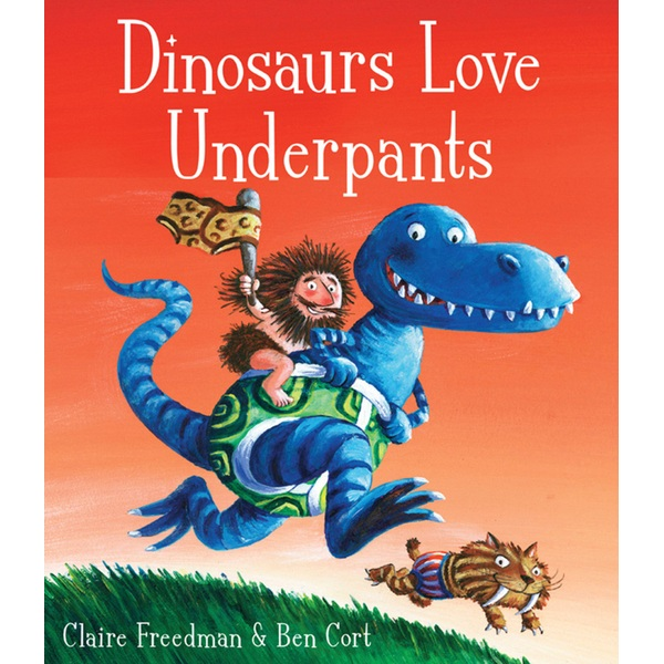 Dinosaurs Love Underpants PB Story Book