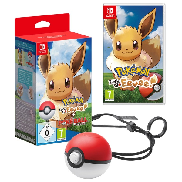 Pokemon: Let's Go! Eevee! + Poke Ball Plus