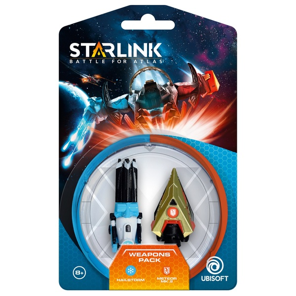Starlink Battle For Atlas Weapons Pack Hail Storm + Meteor