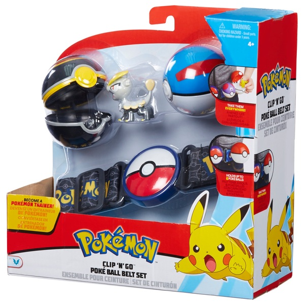 Pokémon Clip 'N' Go Belt Set