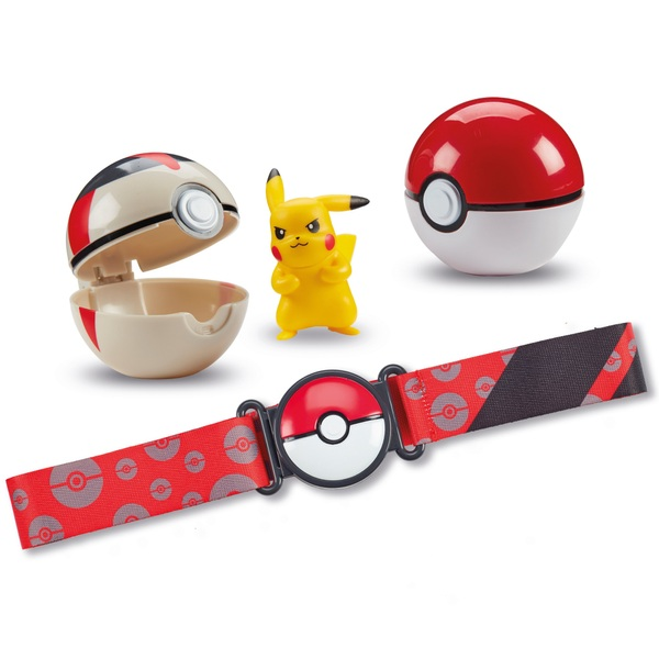 Pokémon Trainer with the Clip N Go Pokéball Belt