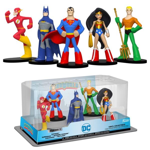 HeroWorld: DC HEROES 5Pack- Series  1
