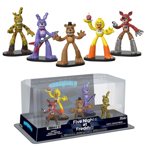 HeroWorld: Five Nights at Freddy's 5Pack- Series 2