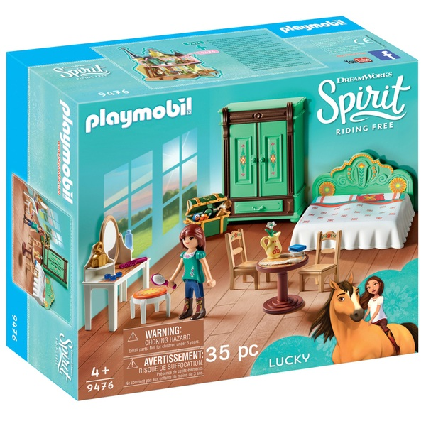 Playmobil 9476 DreamWorks Spirit Riding Free Lucky's Bedroom