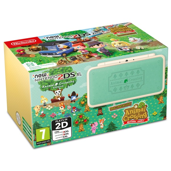 new nintendo 2ds xl animal crossing new leaf welcome amiibo 3ds