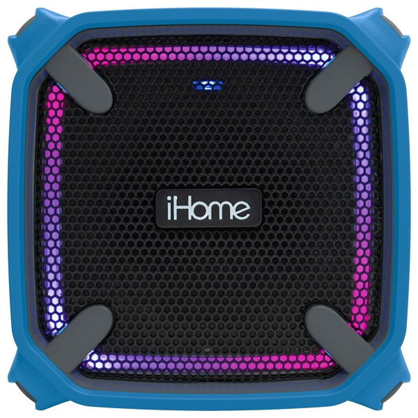iHome Splashproof Colour Changing Bluetooth Rechargeable Stereo