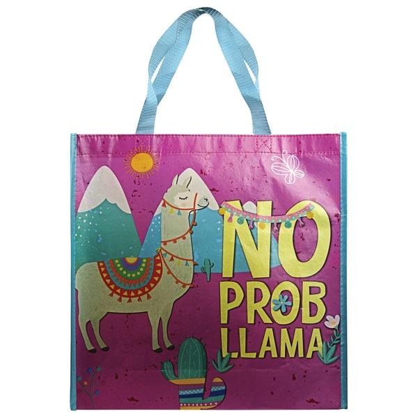 No Prob Llama Shopper Bag