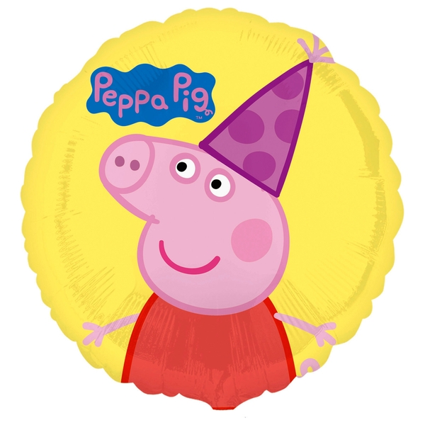 Peppa Pig Standard 45cm Foil Balloon