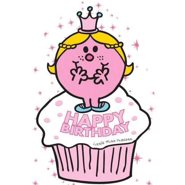 Little Miss No Age Birthday Card
