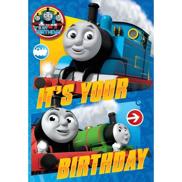 Thomas No Age Birthday Card