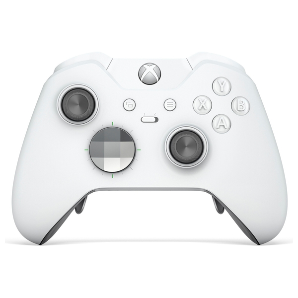 11391269527 Xbox One Wireless White Elite Controller - Xbox One Accessories UK