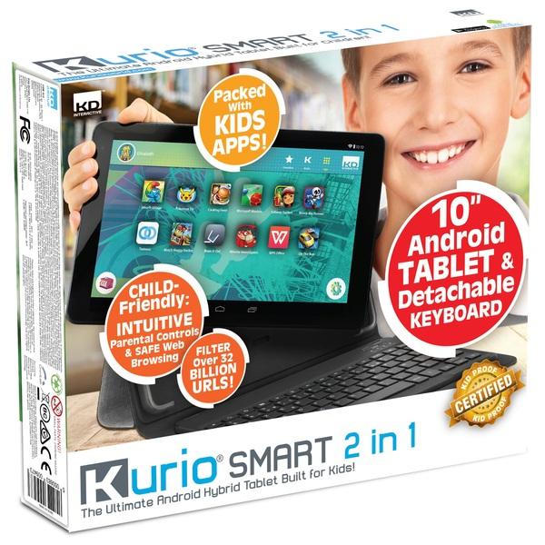 Kurio Android 10'' Tablet with Keyboard