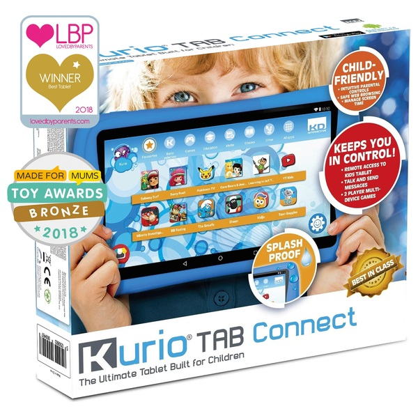 Kurio 7 Inch Tablet Connect Blue