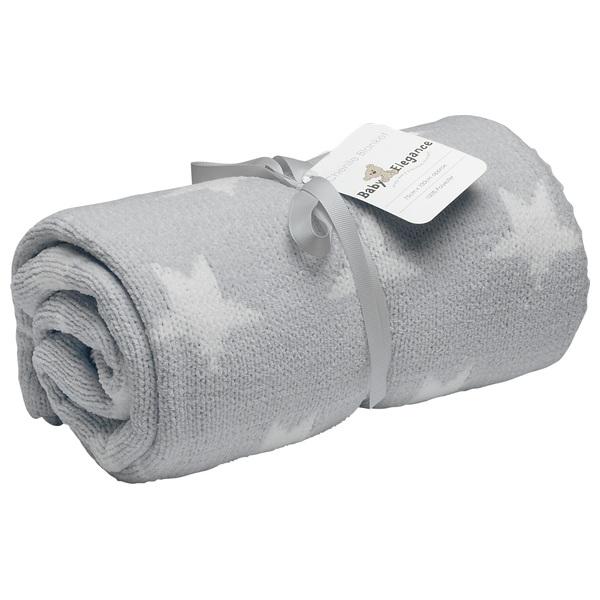 Baby Elegance Chenille Fleece blanket