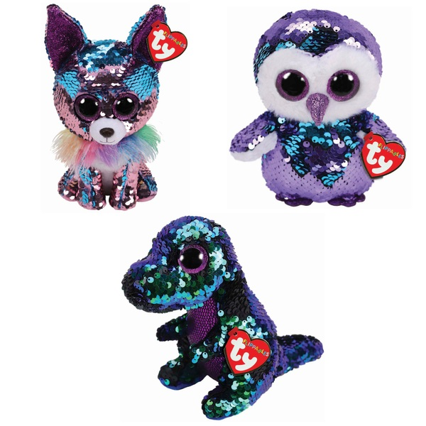 TY Flippable Beanies - Assortment - Soft Toys UK 03fcdd1e3ee2