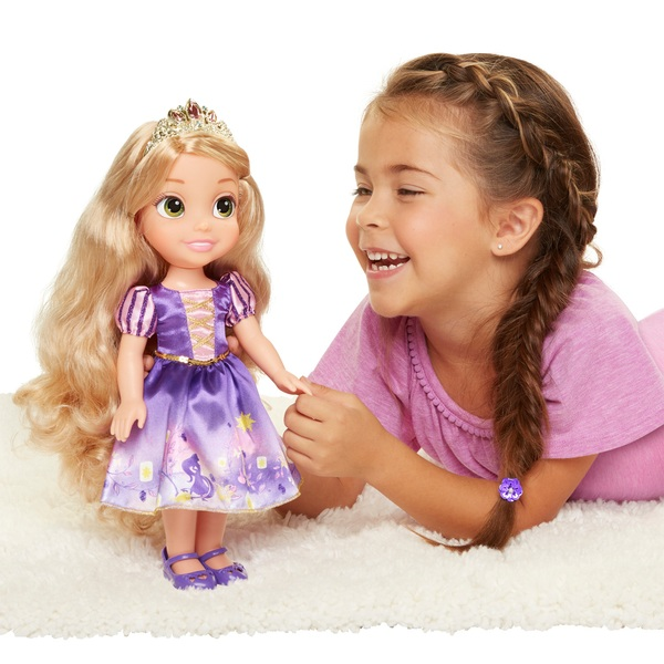 Disney My First Toddler Princess Rapunzel Doll - Smyths Toys