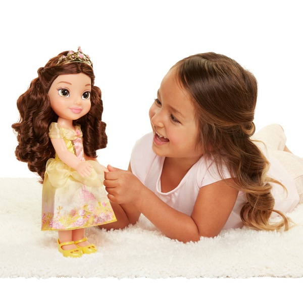 cdda0f5e3402 Disney My First Toddler Princess Belle Doll - Disney Princess UK