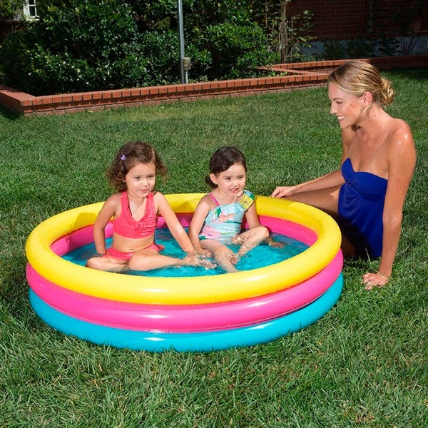 Polygroup 3 Ring Coloured Pool