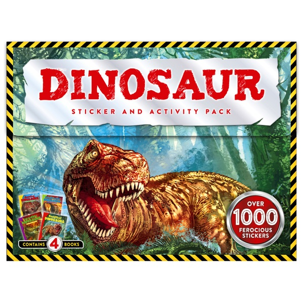 Dinosaur World Sticker and Activity Pack