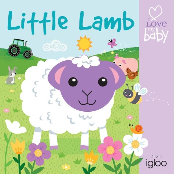 i Love my baby Finger Puppet Fun: Lamb Book