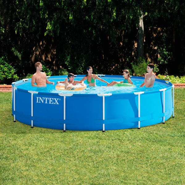 Intex 15FT x 83cm Metal Frame Pool Set