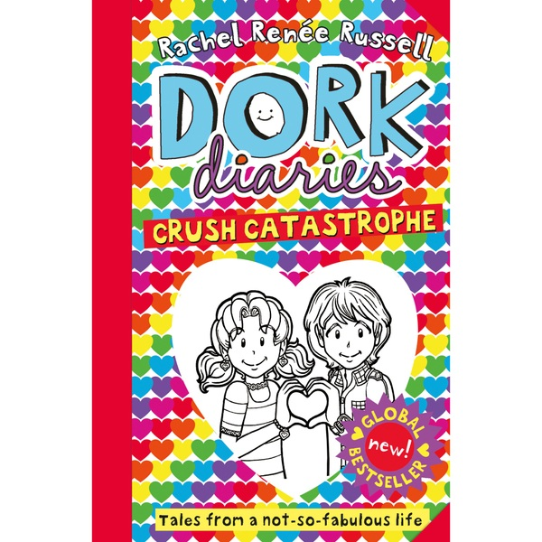 Dork Diaries - Crush Catastrophe PB Book Rachel Renee Russell
