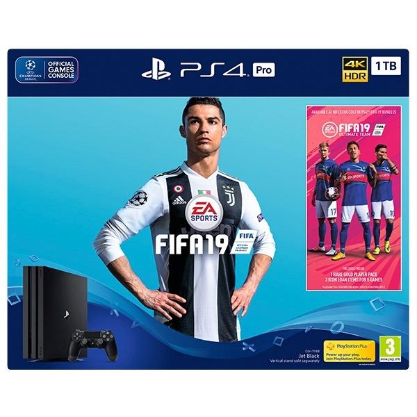 PS4 Pro 1TB FIFA 19 Bundle
