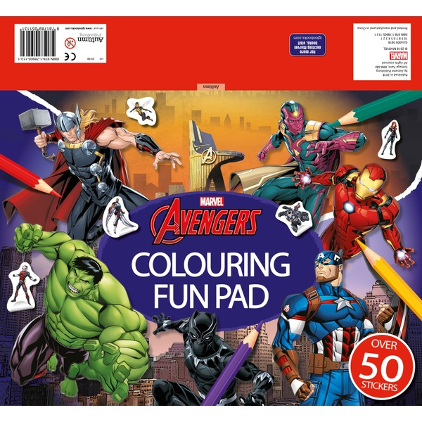 Marvel Avengers: Colouring Fun Pad