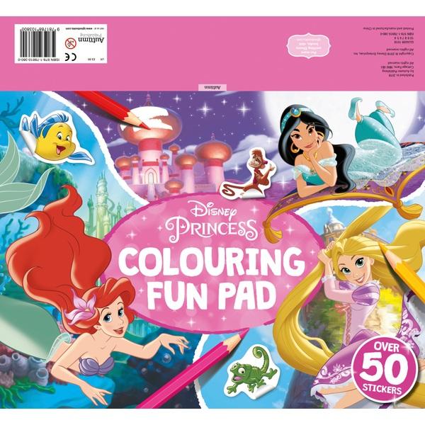 Disney Princess: Colouring Fun Pad - Colour, Activity ...