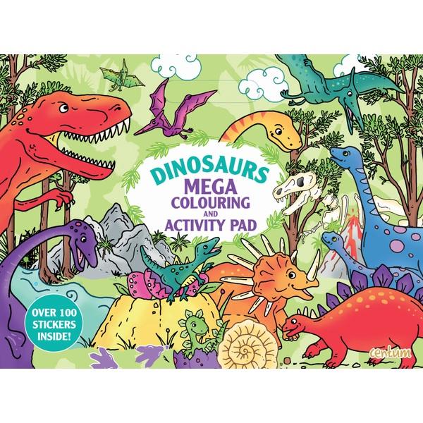 Dinosaurs Mega Colouring and Activity Pad