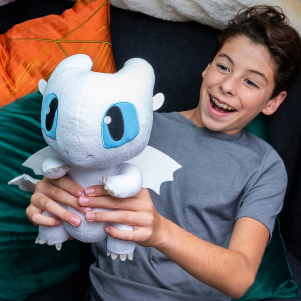 DreamWorks Dragons Squeeze and Growl - Lightfury