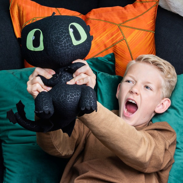 Dreamworks Dragons Squeeze and Growl - Toothless