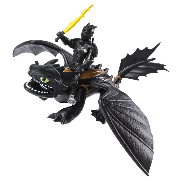 Toothless and Hiccup - Dreamwork Dragons Dragon and Viking
