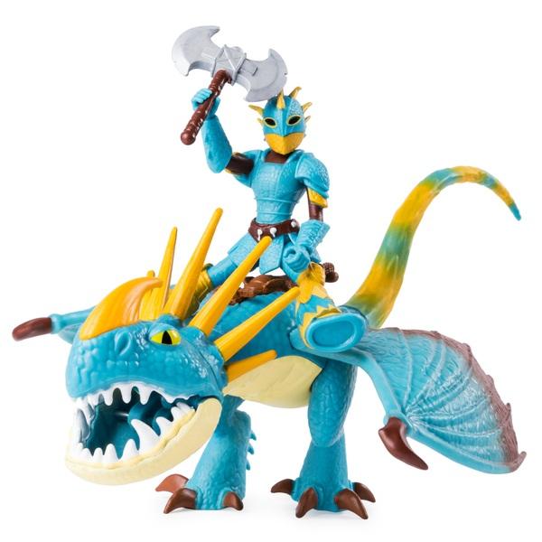 Astrid and Stormfly - Dreamwork Dragons Dragon and Viking