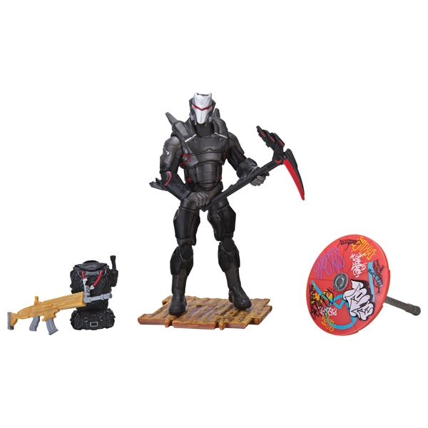 fortnite omega early game survival kit figure - fortnite omega full armour