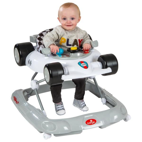 Babylo Racer 500 Baby Walker - White