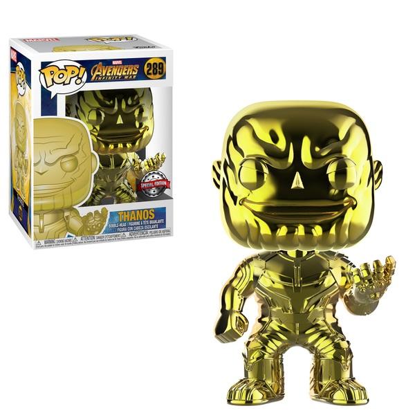POP! Marvel: Infinity War Thanos Chrome