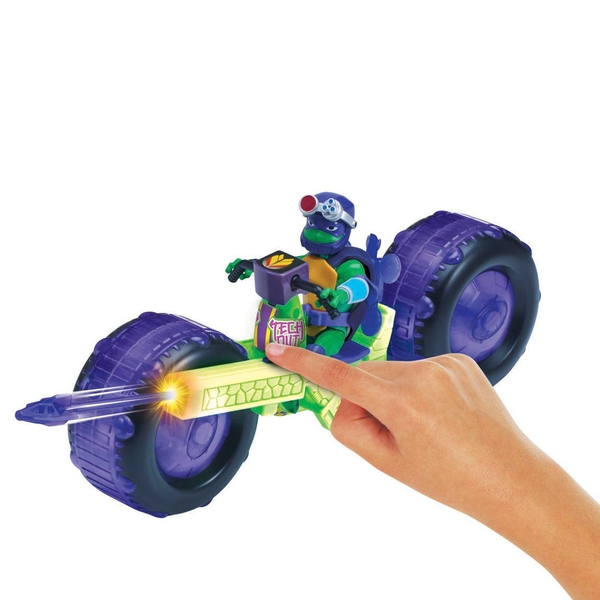 Vehicle with Figure Assortment -The Rise of The Teenage Mutant Ninja Turtle
