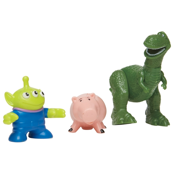 Imaginext Toy Story - Rex, Hamm and Alien