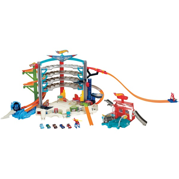 Hot Wheels Ultimate Garage And Car Wash Hot Wheels Playsets Uk