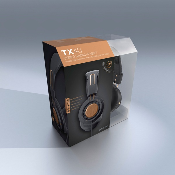 TX-40 Stereo Gaming & Go Universal headset Copper