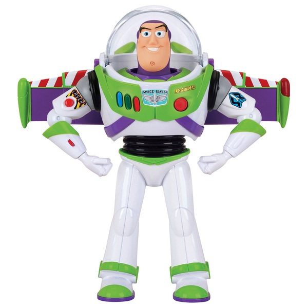 Buzz Lightyear Deluxe Space Ranger Talking 30cm Action Figure Toy Story 4